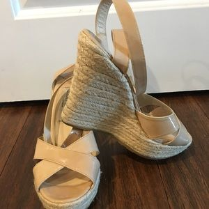 Jimmy Choo Espadrille Wedge Sandals